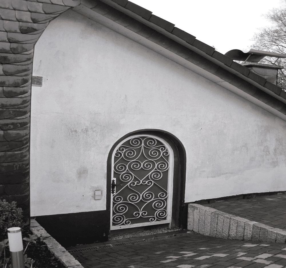 Algenentfernung auf Hausfassade in Herdecke Unna und Dortmund